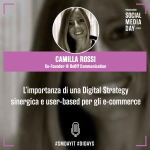 Camilla Rossi al Mashable Social Media Day