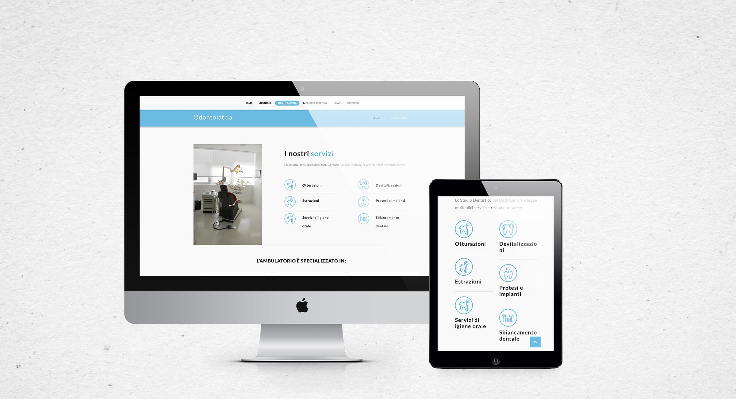 OnOff-Communication-realizzazione-siti-web-studio-dentistico-Carraro