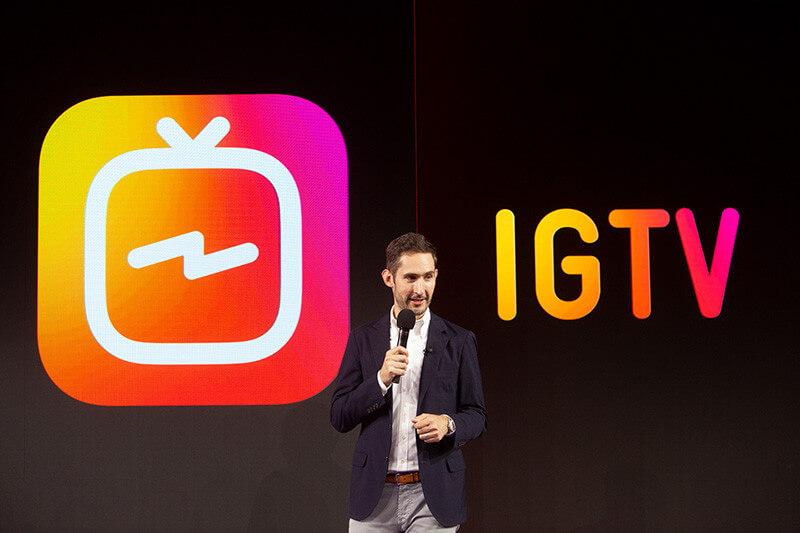 Video professionali di lunga durata su Instagram: arriva la IGTV