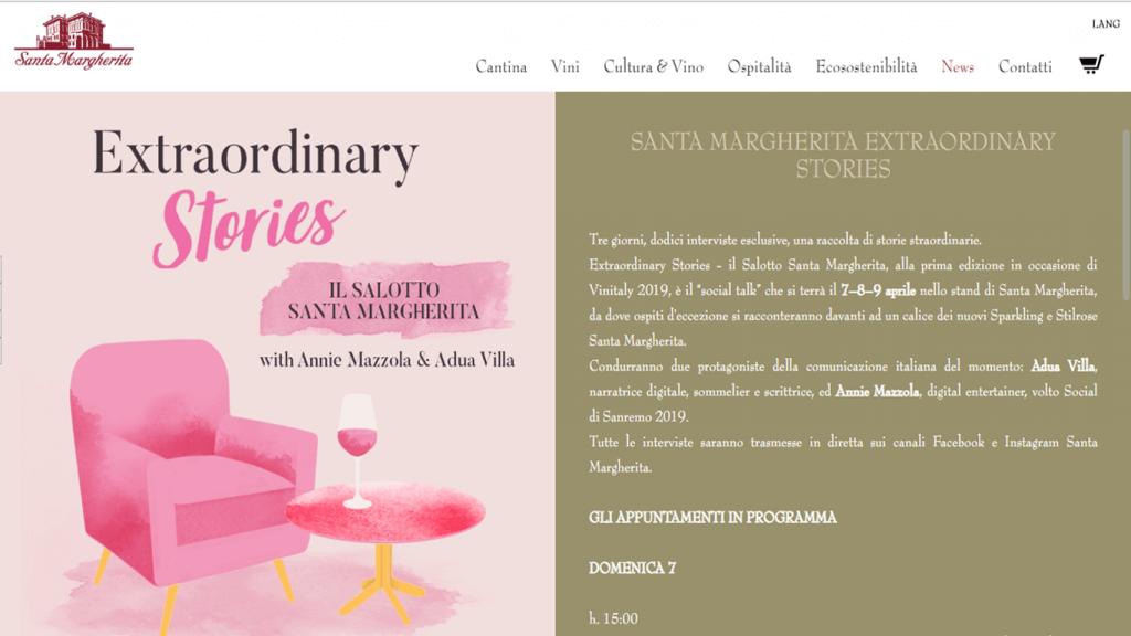 Vinitaly 2019, Vini Santamargherita, di OnOffcommunication